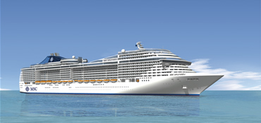 MSC Splendida -  Spring Break Special - 7 Nights Western Med Cruise