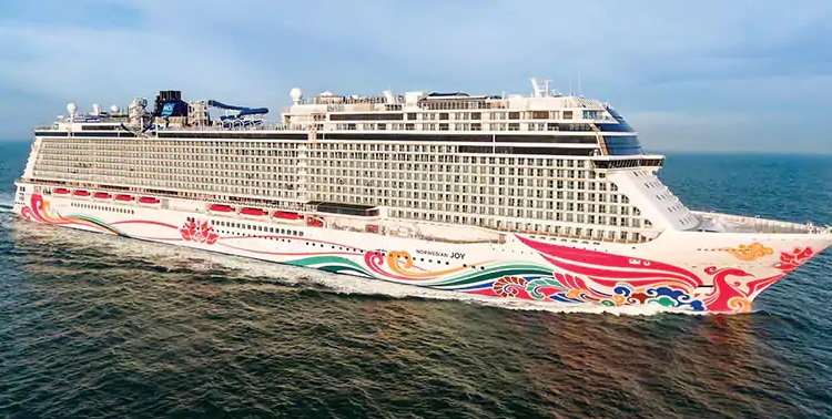 I360 shipdata norwegian joy